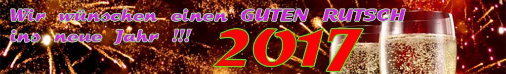 PHP rocks! wünscht allen Mitgliedern einen guten Rutsch ins neue Jahr 2017 !!!